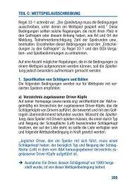 Anhang I C Wettspielausschreibung - Golf.de