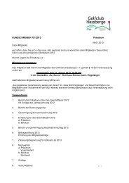 RUNDSCHREIBEN 01/2013 Präsidium 09.01.2013 Liebe Mitglieder ...