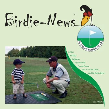 Birdie News Juli 2007 - Golfclub Lilienthal eV