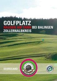 anklicken für Komplette Scorekarte als PDF - Golf-ER Club ...