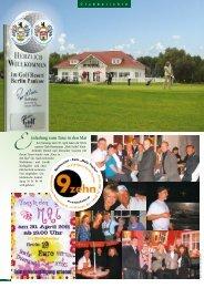 April 2011 - Golf Resort Berlin Pankow