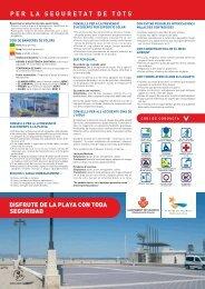 PER LA SEGURETAT DE TOTS - Ajuntament de València