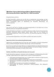 Öffentliches Interessenbekundungsverfahren (Markterkundung)