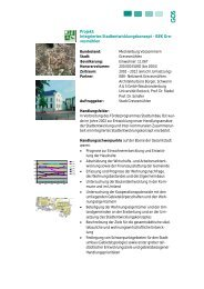 Projekt: Integriertes Stadtentwicklungskonzept - ISEK ... - Gos-gsom.de