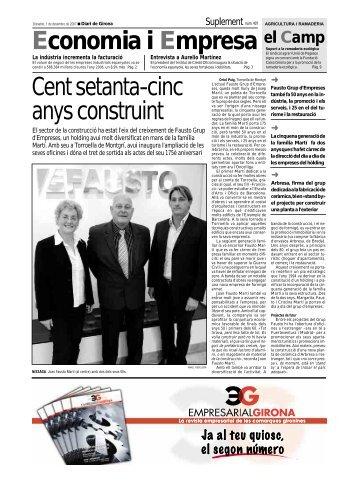 Economia i Empresa el Camp Cent setanta-cinc ... - Diari de Girona