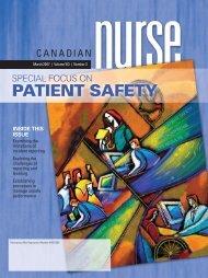 Patient safety - Canadian Nurse