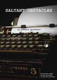 SALTANT OBSTACLES La Censura Literària - Recercat