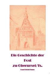Postgeschichte Oberursel - Verein für Geschichte und Heimatkunde ...
