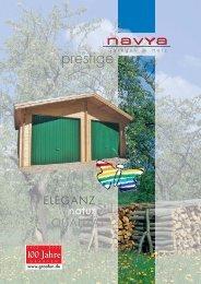 NAVYA Prestige Holzgaragen PDF-Format - Franz Graafen Söhne ...