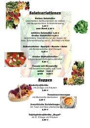 klicken Sie hier zu unserer Speisekarte!