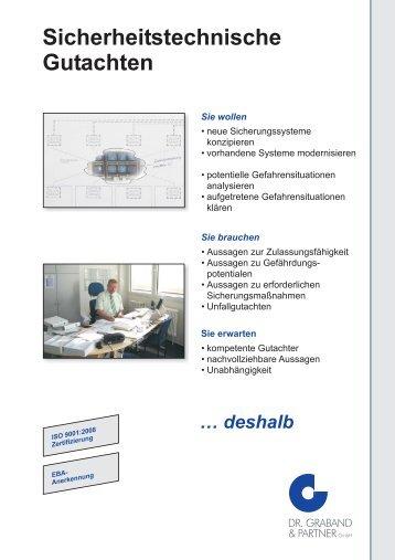 sicherheitstechnische gutacht... - Dr. Graband & Partner GmbH