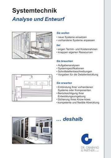 SYSTEMTECHNIK deutsch.cdr - Dr. Graband & Partner GmbH
