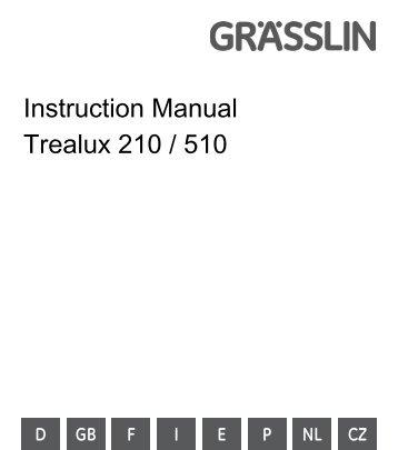 rci 510 manual