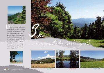 Impressionen 2012 Erhloungsdreieck Bayerischer Wald