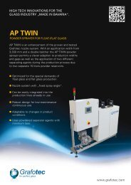 AP TWIN - Grafotec Spray Systems GmbH