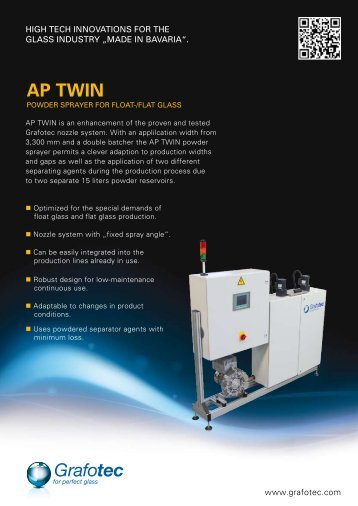 AP TWIN - Grafotec Spray Systems GmbH