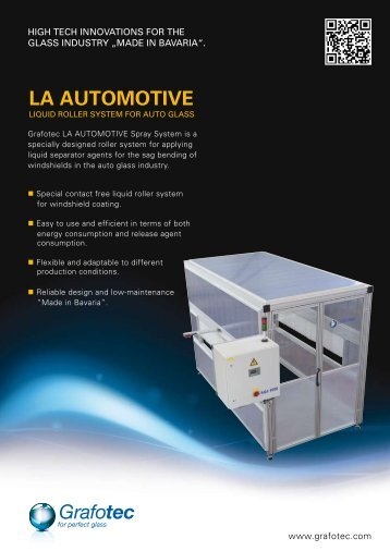 la automotive - Grafotec Spray Systems GmbH