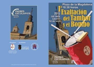 """Programa """"I Exaltación del Tambor y el Bombo - Ayuntamiento de ..."""