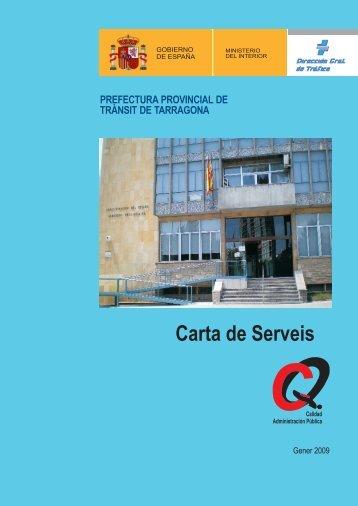 prefectura provincial de trànsit de tarragona