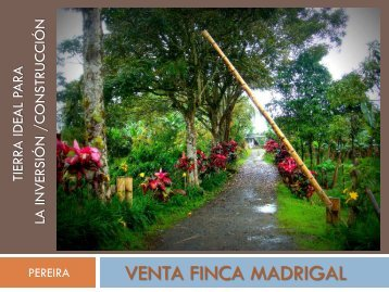 VENTA FINCA MADRIGAL