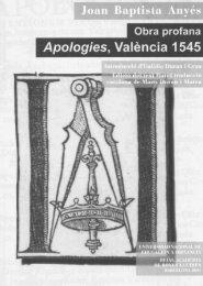 Obra profana - Reial Acadèmia de Bones Lletres