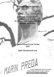 Constanţa-Eugenia Jumugă IDEEA DE ... - Sala de Lectură