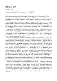 Belladona I .pdf - Dr. Gheorghe Jurj - Homeopatie