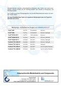 Masterbatch Portfolio - Reinigungs- u. Einfriermasse - - Granulat 2000 - Seite 2