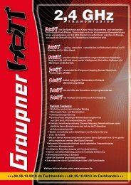 HoTT - Systemflyer - MHM-Modellbau