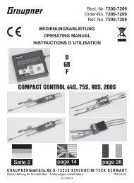 5x Sicherungsclip für Servokabel Verschluss Kabel Stecksystem Clips Servo