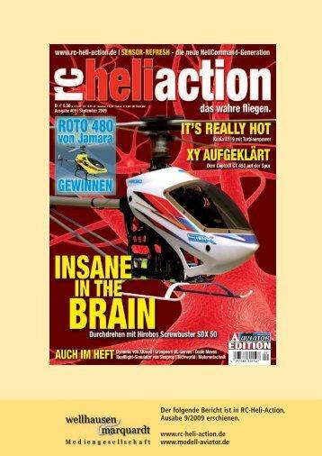 Brushless-Power-Servos | rc-heli-action 9/2009 - Graupner