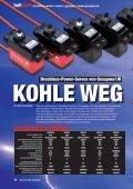 Brushless-Power-Servos | rc-heli-action 9/2009 - Graupner - Seite 2