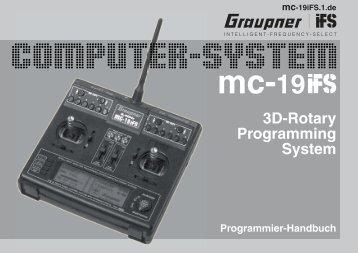 3D-Rotary Programming System - Graupner IFS