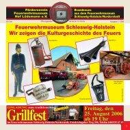 Feuerwehrmuseum Schleswig-Holstein Wir zeigen die ...