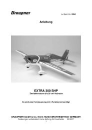 Anleitung EXTRA 300 SHP - Green Hobby & Model