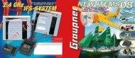 Graupner New Items 2008