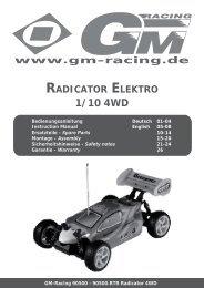 1/10 4WD - Graupner