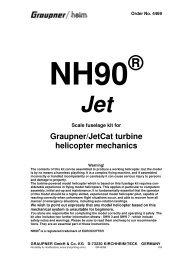 Jet - Graupner