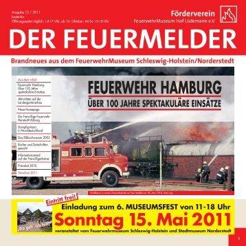 FEUERWEHR HAMBURG - Feuerwehrmuseum Schleswig-Holstein