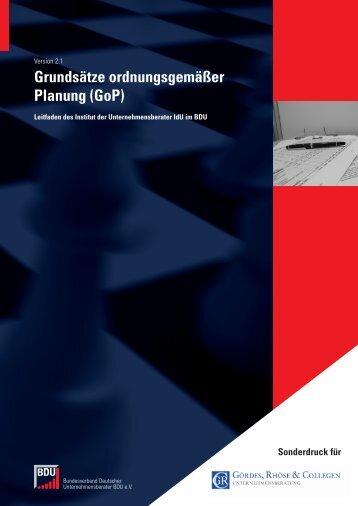 Dokumentation im pdf-Format - Unternehmensberatung Hannover ...