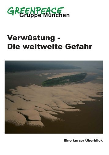 Broschüre (PDF, 1 MB) - Greenpeace-Gruppe München