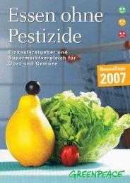 Essen ohne Pestizide - Marktcheck.at