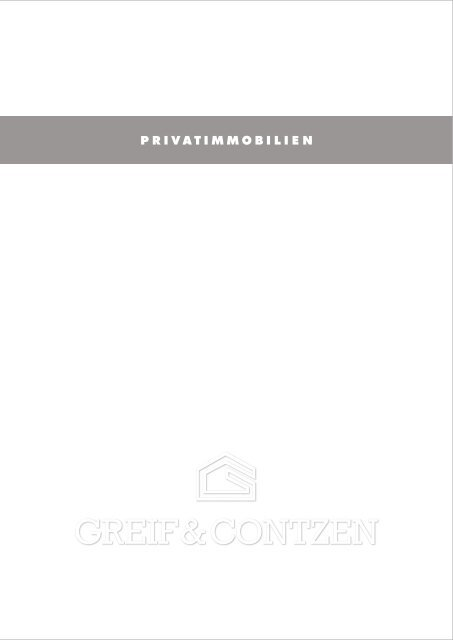 Privatimmobilien - Greif & Contzen Immobilienmakler