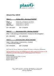 Schwiiz-Tour 2010 Paket 1