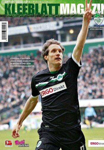 Nr. 14 Eintracht Frankfurt 31.03.2013 - SpVgg Greuther Fürth