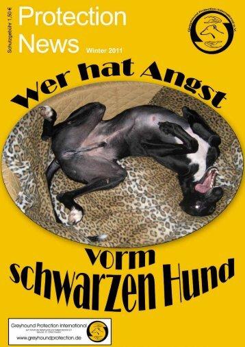 """Protection News"" Winter 2011 - Greyhound Protection International"