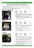 """Protection News"" Winter 2011 - Greyhound Protection International - Seite 6"