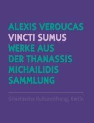 ALEXIS VEROUCAS VINCtI SUMUS WERKE AUS DER tHANASSIS ...