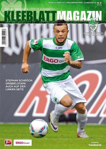 Nr. 3 FC Ingolstadt 04 19.08.2011 - SpVgg Greuther Fürth