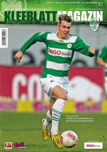 Nr. 13 - TSG Hoffenheim (09.03.2013) - SpVgg Greuther Fürth